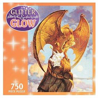 750 Piece Glitter & Glow Puzzle