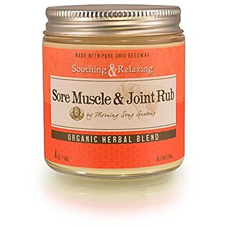 Bee Balm Cream Sore Muscle and Joint Rub, 4 oz