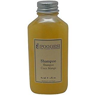 Poggesi Coco Mango Shampoo Lot of 12 each 2oz Bottles Total of 24oz