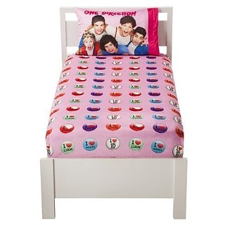 One Direction Micro Mink 2 Piece Warm Sheet Set - Twin