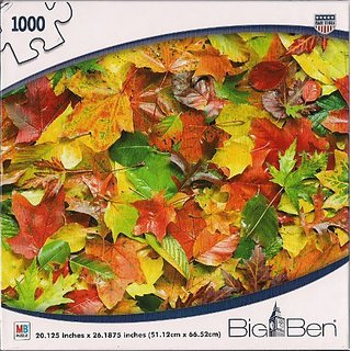 Autumn Leaves 1000 Piece Puzzle