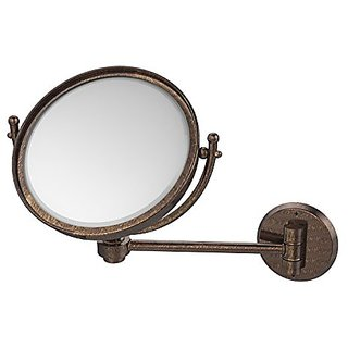 Allied Brass WM-5/4X-VB 8-Inch Mirror with 4x Magnification Extends 7-Inch, Venetian Bronze