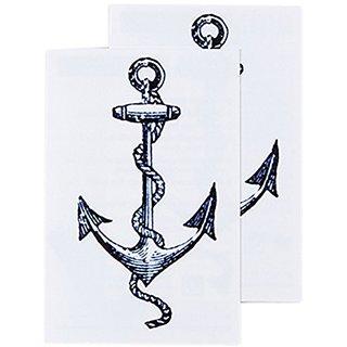 Tattly Temporary Tattoos, Cartoina Anchor, 0.1 Ounce