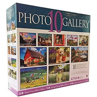 Puppies & Kittens 10 Puzzles - 6750 pieces