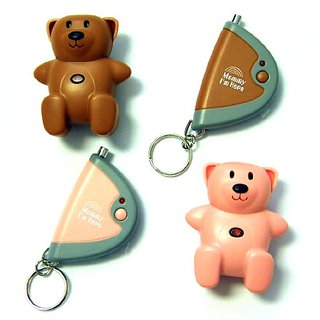 Mommy Im Here CL-103PK-BR2pak Teddy Bear Remote Child Locator, 2-Pack, One Pink and One Brown
