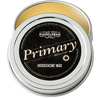 Primary Moustache Wax Medium Hold, Every Day Use