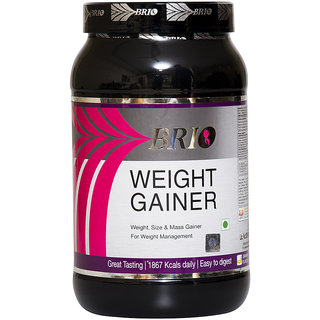 Brio Weight Gainer (1.5Kg, Banana)