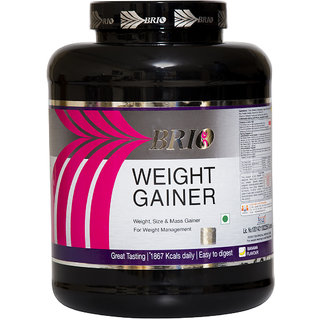 Brio Weight Gainer (3Kg, Banana)