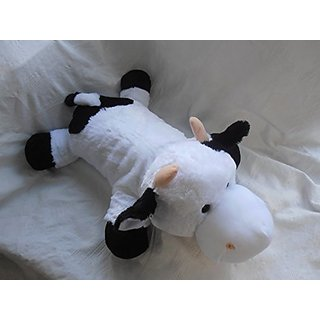 Lying Black and White Cow Plush Toy 30