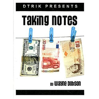 MMS Taking Notes by Wayne Dobson - Trick