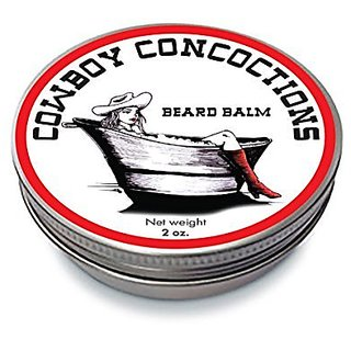 COUNTDOWN SALE / DEAL! Natural Lemongrass Beard Balm enriched with Vitamin E (2 oz.). Makes your beard soft!