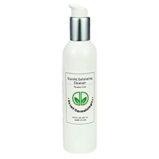 DESERT DERMATOLOGICS Glycolic Exfoliating Cleanser -8oz -2.5% Glycolic Acid +Calendula and Arnica Extracts to Reduce Inf