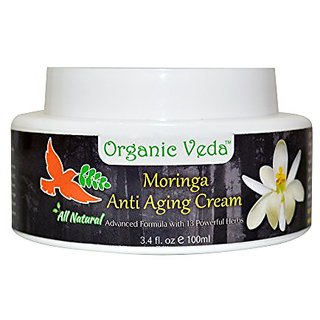 All Natural Moringa Anti Aging Cream. ★ Plant Based Vitamins and Minerals. ★ Advanced Herbal Formula with