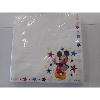 Disney Mickey Mouse Lunch Napkins