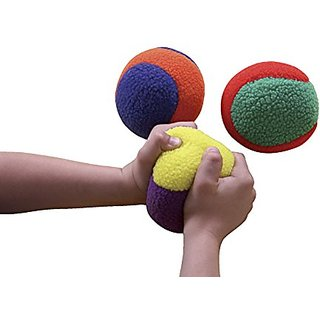 Sportime 033073 FleeceLight Activity Balls, 3-3-4