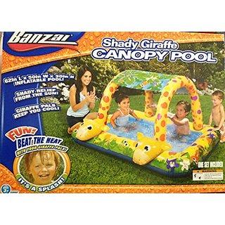 Banzai Giraffe Canopy Pool - Shady Fun Splash Time