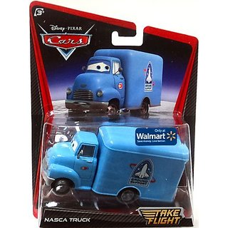 Disney - Pixar Cars Take Flight Exclusive 155 Die Cast Car Nasca Truck