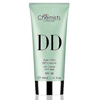 skinChemists Age Defying DD Medium Cream with SPF 30, 31 Gram