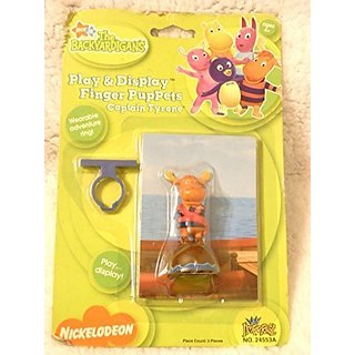 Nick Jr - The Backyardigans Play & Display Finger Puppet - Captain Tyrone