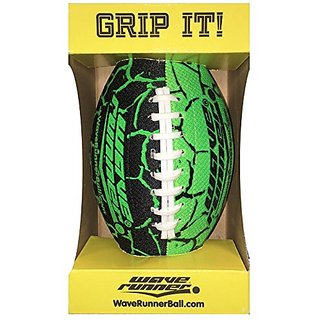 Wave Runner Grip It Football, Green