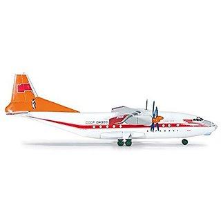 HE554855 Herpa Wings Aeroflot Polar Aviation AN-12 1:200 Model Airplane