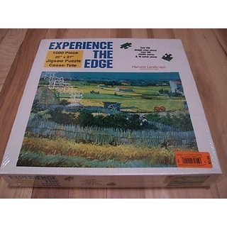 Experience The Edge Harvest Landscape Puzzle 1000 Pieces