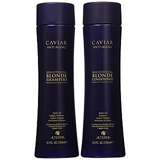 Alterna Caviar Anti-Aging Blonde Shampoo and Conditioner Duo (8.5 oz each)