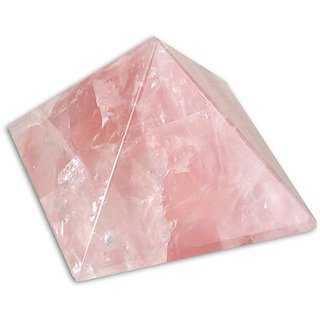 Rose Quartz Pyramid - Pink