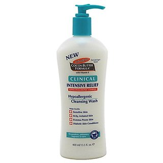 Palmers Cocoa Butter Clinical Intensive Relief Wash 13.5oz (2 Pack)
