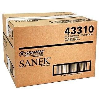 Sanek Neck Strips Master Case of 4 Cartons - 2880 Strips