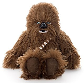 Star Wars beans collection Chewbacca stuffed toy sitting height about 16cm