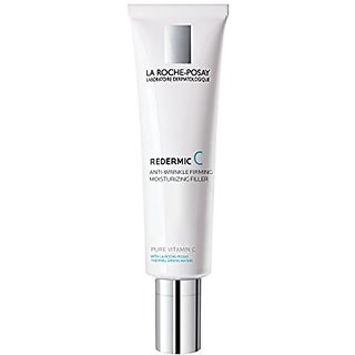 La Roche-Posay Redermic C Anti-Wrinkle Firming Facial Moisturizer for Normal to Combination Skin with Vitamin C, 1.35 Fl