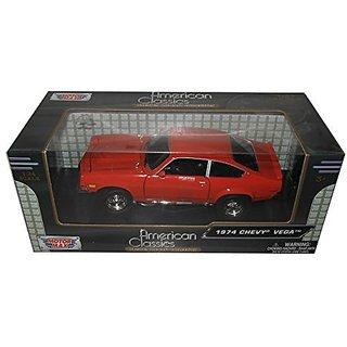 1974 Chevrolet Vega Orange 1 24 by Motormax 73311