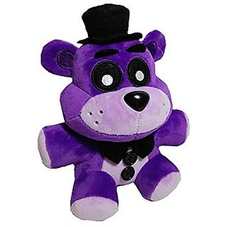 Soft and Beautiful New Purple Freddy Bear Stuffed Animal Plush Toy Doll 1pcs