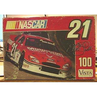 Elliott Sadler #21 NASCAR 100 Piece Puzzle