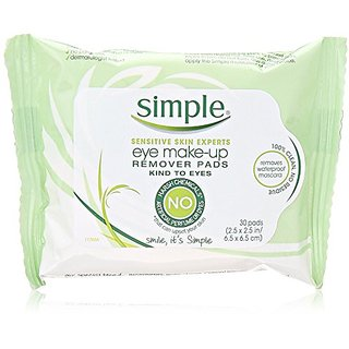 Simple Cleansing Facial Wipes, 30 Count (Pack of 2)