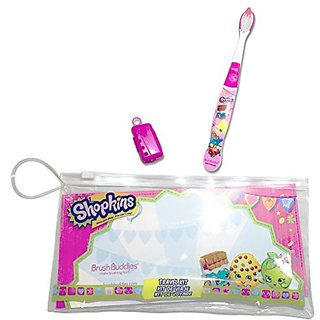 Brush Buddies 00365-25 Shopkins Travel Kit ECO (Pack of 24)