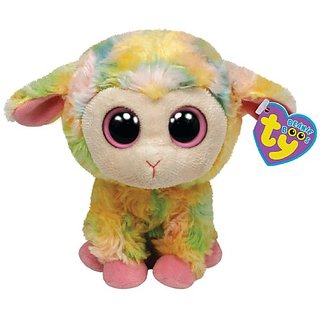 Ty Beanie Boos Blossom Multi Colored Lamb 6