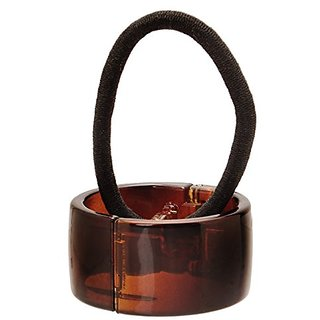 France Luxe Elodie Cuff Pony - Tortoise