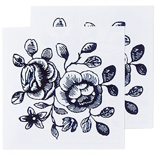 Tattly Temporary Tattoos, Cartolina Blooms, 0.1 Ounce