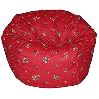 Ahh! Products French Provincial Red Washable Kid Bean Bag Chair