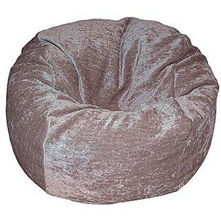 Ahh! Products Chenille Tan Washable Kid Bean Bag Chair