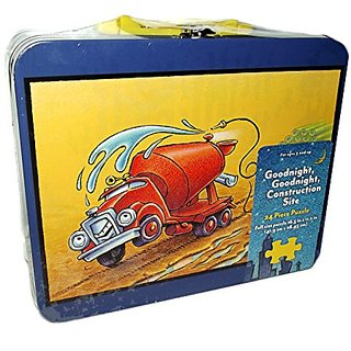 Goodnight, Goodnight Construction Site Cement Mixer 24 Piece Puzzle