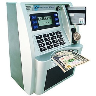 ATM Savings Bank - Limited Edition - Silver Black