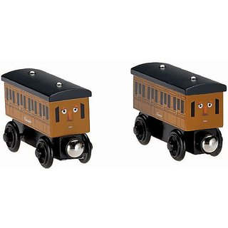 Fisher-Price Thomas the Train Wooden Railway Annie and Clarabel