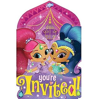 Shimmer and Shine Invitations w Envelopes (8ct)