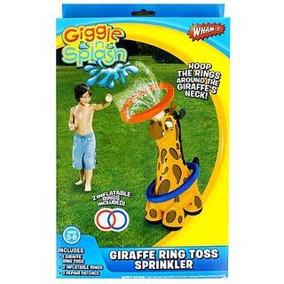 Wham-O Giggle N Splash Giraffe Ring Toss Sprinkler