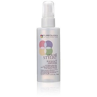 Pureology Colour Stylist Radiance Amplifier Anti-Frizz Shine Spray, 3.2 Ounce