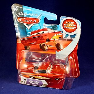 LIGHTNING RAMONE #15 w- Lenticular Eyes Disney - Pixar CARS 1:55 Scale Die-Cast Vehicle