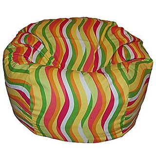 Ahh! Products Wavelength Citrus Washable Kid Bean Bag Chair